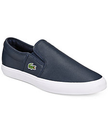 Lacoste Men's Gazon Slip-On Sneakers