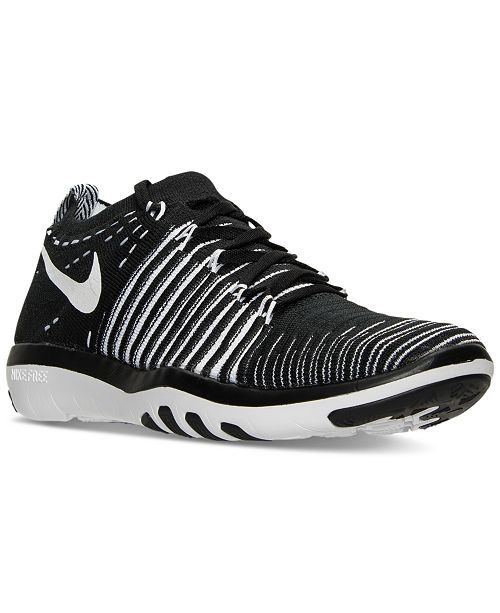 9a22a19a1a81a ... Nike Women s Free Transform Flyknit Training Sneakers from Finish ...