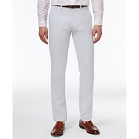 Kenneth Cole Reaction Men's Slim-Fit Fine Twill Techni-Cole Pants