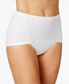 Bali Women's  2-Pack Ultra Tummy-Control Cotton Brief DF6510