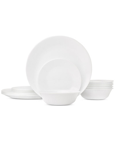 corelle livingware 18 piece dinnerware set service for 6 dinnerware dining entertaining. Black Bedroom Furniture Sets. Home Design Ideas