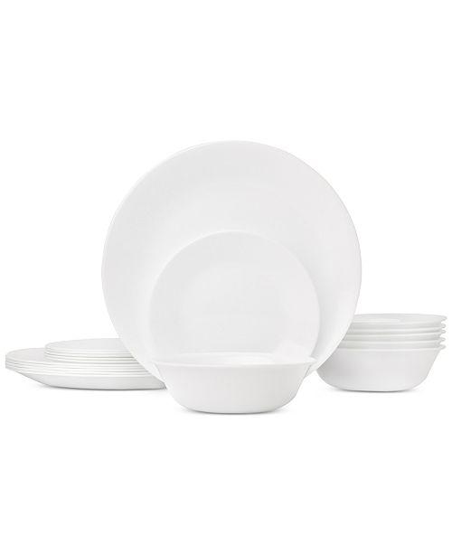 Corelle Livingware 18-Piece Dinnerware Set, Service for 6 ...
