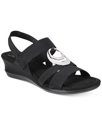 Impo Geanna Stretch Wedge Sandal