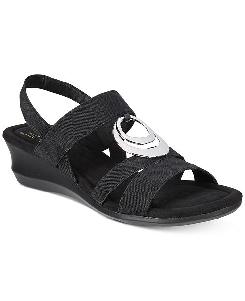 Impo Geanna Stretch Wedge Sandal AJtMpUqAt1