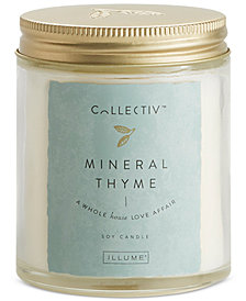 Illume Mineral Thyme Collectiv Jar Candle