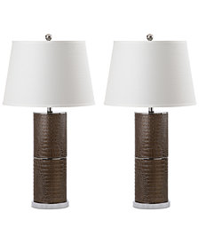 Safavieh Set of 2 Pearson Table Lamps