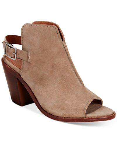Frye Women's Courtney Slingback Shooties, A Macy's Exclusive Style