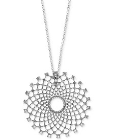 Pavé Classica by EFFY® Diamond Pendant Necklace (2-1/3 ct. t.w.) in 14k White Gold
