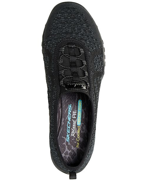 ... Skechers Women s Relaxed Fit  Breathe Easy - Fortuneknit Casual Walking  Sneakers from Finish ... 2473e9f70e