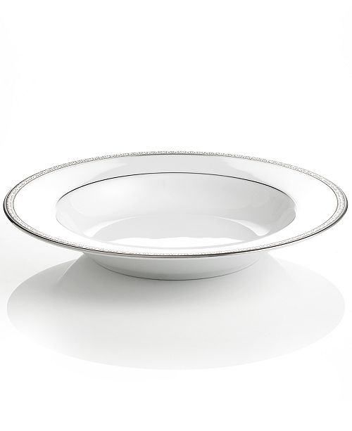 Peachy Charter Club Grand Buffet Platinum Rim Soup Bowl Reviews Home Interior And Landscaping Transignezvosmurscom