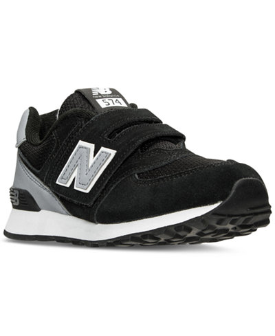 New Balance Little Boys' 574 High Visibility Casual Sneakers