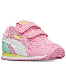Puma Toddler Girls' Cabana Racer Mesh Running Sneakers from Finish Line