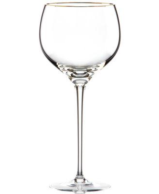Stemware, Eternal Gold Signature Wine Glass