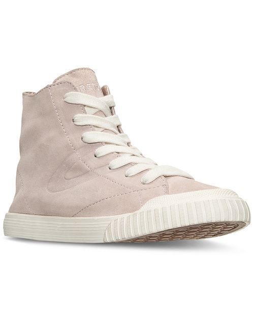 Tretorn Women's Marley 2 High Suede High Top Casual Sneakers from Finish Line