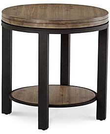 Canyon Round End Table, Created for Macy's
