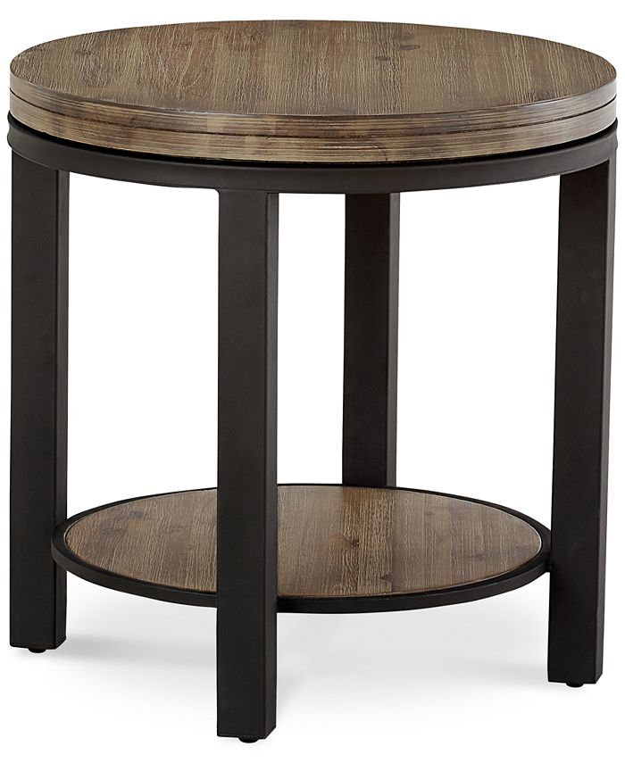 Furniture - Canyon Round End Table, Only at Macy's