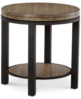 Canyon Round End Table, Created For Macyu0027s