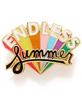 ban.do Endless Summer Enamel Pin