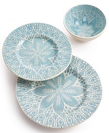Viva by Vietri Lace Collection 3-Piece Place Setting