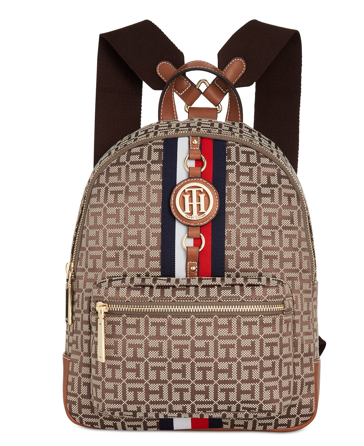 3be0478f6f5 Tommy Hilfiger Jaden Monogram Backpack at Macy s (now  88.50)