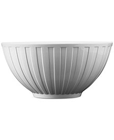 Wedgwood Dinnerware, Night and Day Large Fluted Bowl