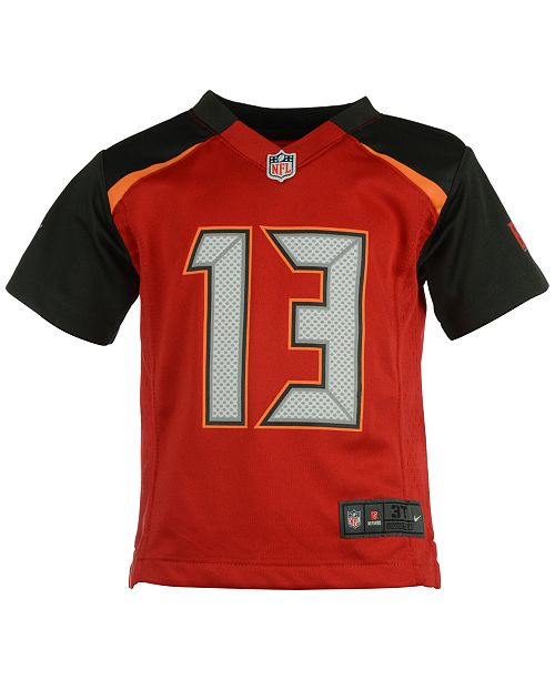 online store b5eb8 2d93d Mike Evans Tampa Bay Buccaneers Game Jersey, Toddler Boys (2T-4T)