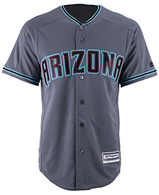 Majestic Men's Arizona Diamondbacks Blank Replica Cool Base Jersey