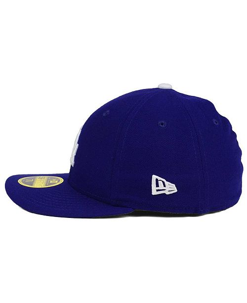 f33845f23ab ... New Era Los Angeles Dodgers Low Profile AC Performance 59FIFTY Cap ...
