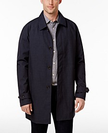 Michael Kors Men's Collin Slim Fit Rain Coat