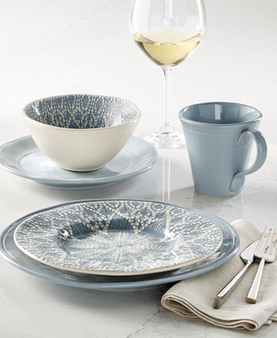 Viva by Vietri Lace Dinnerware Collection