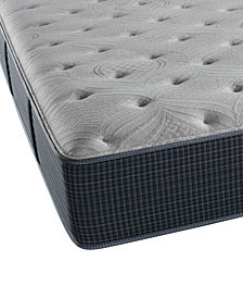 "Beautyrest Silver Waterscape 13.75"" Plush Mattress- Twin"