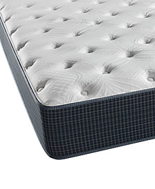 "CLOSEOUT! Beautyrest Silver Golden Gate 11.5"" Plush Mattress- Twin XL"