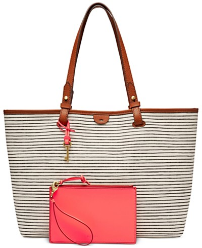 Fossil Rachel Large Printed Tote with Pouch