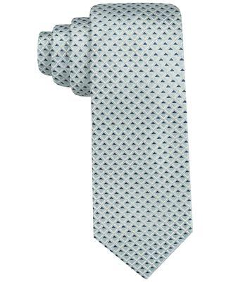 Ryan Seacrest Distinction™ Men's Irvine Neat Slim Tie, Only at Macy's