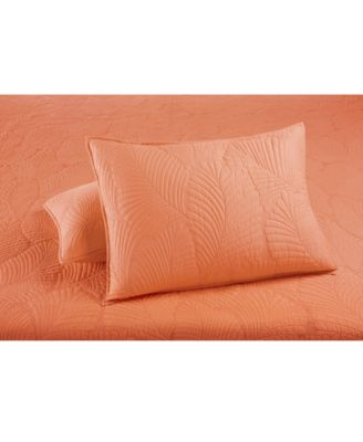 CLOSEOUT!  100% Cotton Atlantic Palm Standard Sham, Created for Macy's