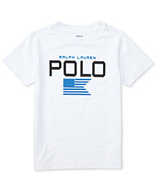 Ralph Lauren Graphic-Print T-Shirt, Little Boys