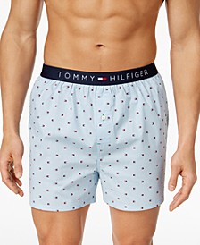 Men's Printed Cotton Boxers