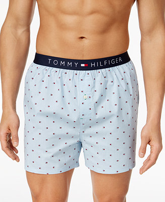 Tommy Hilfiger Men S Printed Cotton Boxers Amp Reviews