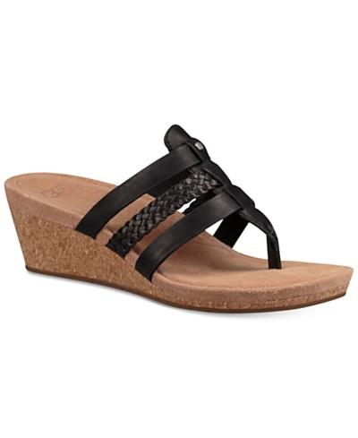 UGG® Maddie Wedge Sandals