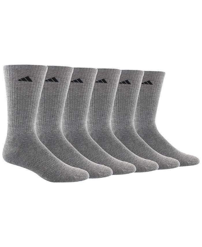 adidas - Men's 6-Pk. ClimaLite Crew Socks