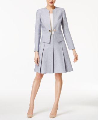 Tommy Hilfiger Pleated A-Line Skirt - Women - Macy's