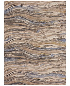 "Enigma Continuum Smokey Gray 9'6"" x 12'11"" Area Rug"