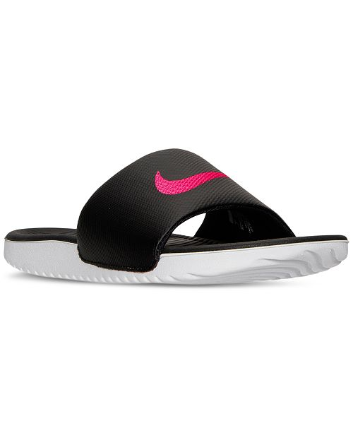 30c76d2628c1 Nike Women s Kawa Slide Sandals from Finish Line   Reviews ...