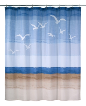 Avanti Seagulls Shower Curtain Bedding