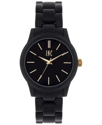 Image of INC International Concepts Women's Black Bracelet Watch 38mm IN020GBK, Only at Macy's