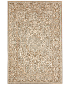 "Karastan Touchstone Nore Willow Gray 3'6"" x 5'6"" Area Rug"