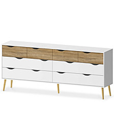 Sorena 8 Drawer Dresser, Quick Ship