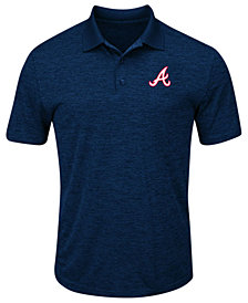 Majestic Men's Atlanta Braves First Hit Polo Shirt