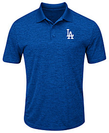 Majestic Men's Los Angeles Dodgers First Hit Polo Shirt