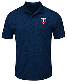 Majestic Men's Minnesota Twins First Hit Polo Shirt
